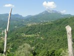 Stunning views of the Apuane Alps