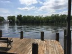 Large Dock for Fishing or Docking Boat