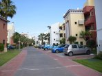 calle urbanizacion
