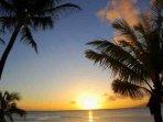 Beautiful sunsets on Napili Bay.