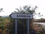 Sorbeda, por aquí...