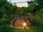 L'Oasis de Terre Rouge - Appartement Acacias - Jardin
