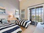Double Full Bedroom w/Flat Screen TV & Balcony