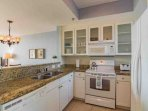 Fully Equipped Kitchen w/ Granite Counter Tops