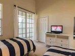 Double Full Bedroom w/Flat Screen TV & Balcony - View #3