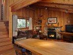 Breakfast Nook and Living Room