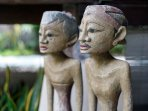 Antique Javanese Statues