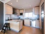 large open kitchen