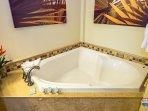 Guest Jacuzzi tub