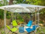 pergola jardin priva Loft - zona descanso, aperitivo