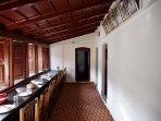 Dining Hall and Balcony