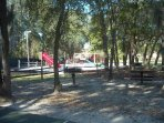 Lovely playground with picnic area