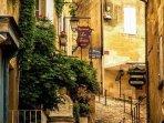 aperçu d'une ruelle de Saint Emilion
