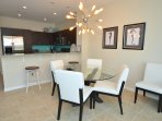 Formal Dining Accommodates Six (6) + Granite Counter Dining For Three...