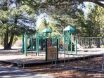 Run the restless kids just a block and half down to Tahoe Paradise Park Play Structure