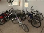 we have over 11 bikes and a trailer for small children