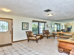 Family Room Located Near the Front of the Home; Great for Guests and Family Game Nights!