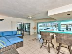 Canal Grande Waterfront Vacation Rental - Naples Florida Vacation Homes - Spacious Bay Front Home - Watch The Dolphins...