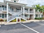 Condo Located in this Building! Quiet Neighborhood with Ample Parking! Center Unit on 1st Level!
