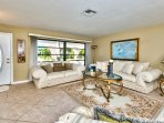 Family Room Near Entrance of Home; Ample Seating; Perfect for Family Activities!