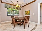 Dining Table and Seating; Perfect for Home Cooked Meals!