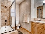 Enjoy a cleansing shower in one of the 3 full bathrooms.