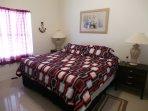 King Size Bed w Luxurious Tempurpedic Mattress in Master Bedroom