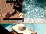 la piscine vue de la chambre 'panorama '
