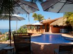 Ocean view, pool terrace