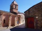 A landmark is Assignan's church