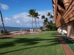 Looking North from the lanai and the North edge of the Island of Molokai