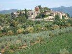 veduta Antico Borgo di Montefioralle