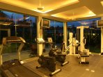 The projects private gymnasium for use by our guests