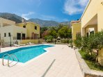 Private but overlooked pool, as Villa Argyro belongs to a complex of three houses!