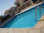 Own Pool , Not shared 8 Metres x 4 Metres
