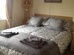 Bedroom 1 - Comfortable double bed very spacious bedroom inc wardrobes and dressing table