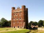 Tattershall Castle - 20 min walk away from the park and attracts lots of visitors