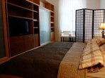 Bedroom 1, cabinet