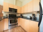 Electric Stove, Microwave, Toaster, Multiple Coffee Makers, Teapot, Dishwasher & More!