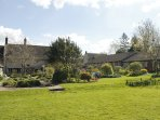 The Cottage is run by a Charity whose Gardens are available to enjoy.
