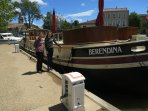 Boat hires are available on Canal du Midi - 5 min drive away