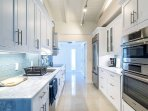 Fully update kitchen with high-end appliances