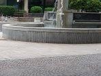 Fontana della via cavour zona pedonale