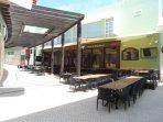 Oscars Bar in Vila Sol 2 min walk
