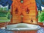 Indulge in a relaxing soak!