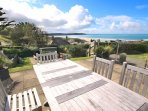 Woolacombe Holiday Cottages Ocean Breeze Garden Table