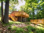Have the ultimate lakefront getaway at this Rice Lake vacation rental home!