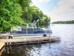 Take the pontoon boat out on the lake!