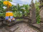 Hillside Eden Bali - Our Temple, have a Balinese blessing!
