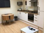 Well equipped and modern kitchen at Sea Breeze